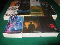 Lisa Jackson books $1 each or $10 for the lot