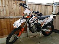 KTM 250 EXC WITH 530R ENGINE FITTED 2007 ENDURO MX BMW swop r1