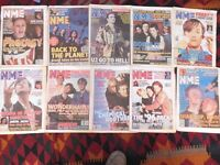 NEW MUSICAL EXPRESS NME -10 Issues 93/95/96 Magazine