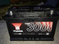 Heavy duty car battery