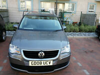 VW Touran 1.9 TDI in good condition & low mileage 7 seater