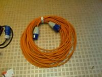 Caravan 16A cables and adaptors