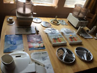 Magi-Mix 1800/2800 Food processors Bundle spairs/repairs/parts Many parts+juicer 1800/2000Grand Chef