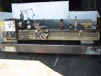HARRISON MODEL M400 GAP BED CENTRE LATHE 80 INCH CENTRES