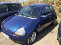 2007 FORD KA IN VERY CLEAN CONDITION MOT NEW EXHAUST REPLACED ENGINE IDEAL FIRST CAR ANYTRIAL PX WRL