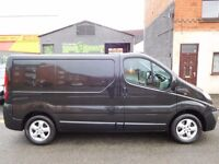 Finance Me... RARE Vauxhall Vivaro SWB Sportive with rear Tailgate back door. renault trafic (8)