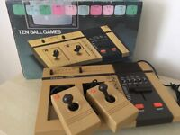 1978 Vintage Vintage Polycon 4010 Pong Games Console in Original Box - Mint Condition Fully Working