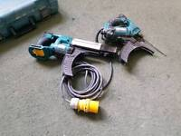 drywall screwgun set makita 6843 / bfr750 plasterboard screwdriver gypsum