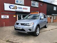 2010 MITSUBISHI OUTLANDER GSE 7 SEATER 4X4*FULL DEALER HISTORY*DVD PLAYER*BLUETOOTH*1 YEAR AA COVER*