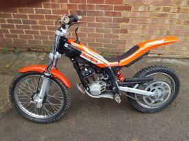 beta 50cc mini trial bike for 5-9 years