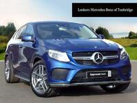 Mercedes-Benz GLE Class GLE 350 D 4MATIC AMG LINE PREMIUM PLUS (blue) 2017-03-24
