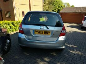 A honda jazz in excellent condition