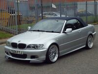 2004 04 BMW 3 SERIES 2.0 318CI M SPORT 2DR - BBS - *SPARES AND REPAIRS* -CONVERTIBLE - FACELIFT - PX