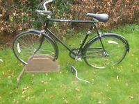 Old Raleigh Chiltrens Gents Bike in excellent condition-new tyres tubes.