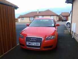Audi A3 2008 (57 reg) 1.9TDI in good condition 2500£ quick sale, full service history
