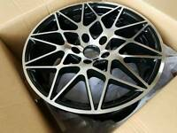 BMW 666M Competition style alloys m3 m4