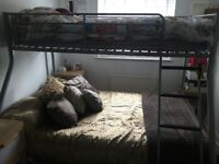 Double Bunk Bed Silver