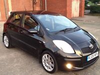 TOYOTA YARIS 1.4 D-4D SR DIESEL,HPI CLEAR,1 OWNER,1 YEAR M.O.T,NAVIGATION,30 ROAD TAX,ALLOYS,A/C