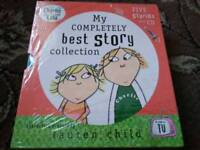 Lauren Child's CHARLIE + LOLA My Completely Best Story Collection Boxset (5books 1CD) £5