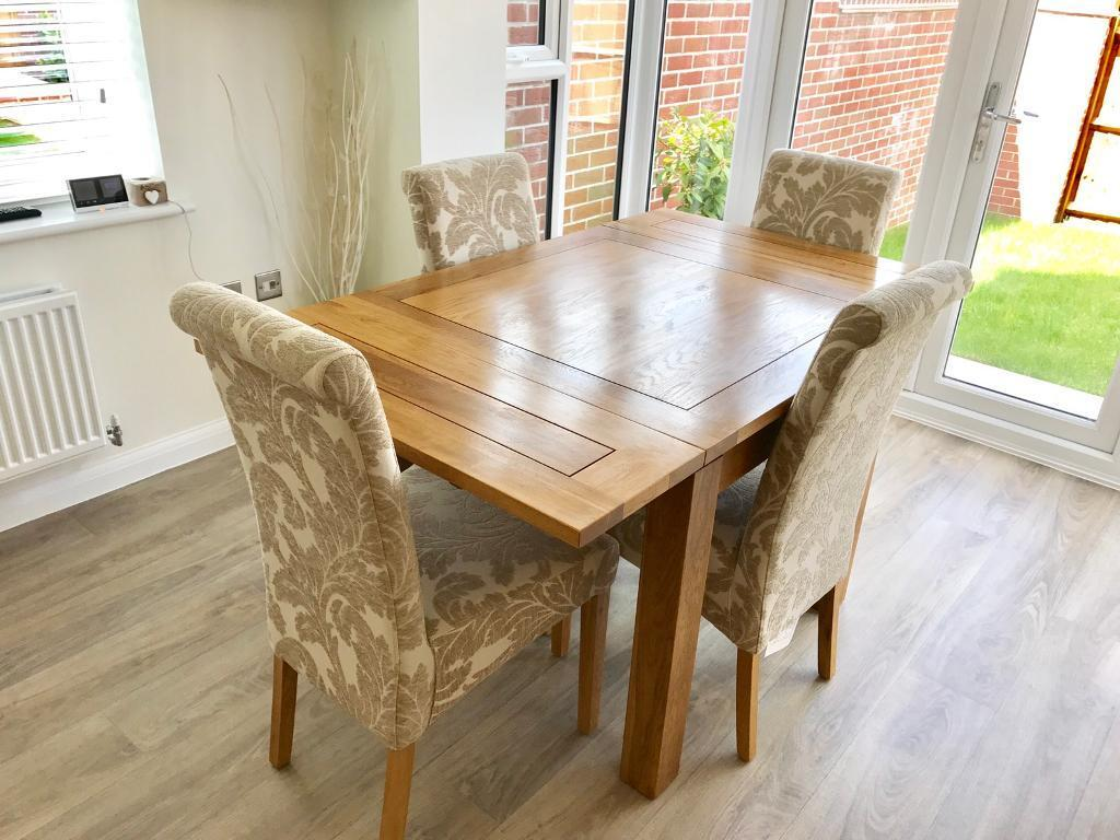Oak Furniture Land 3ft X Extending To 5ft Dining Table
