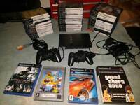 Ps2 with 39 games and 2 controllers