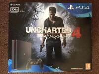 New PS 4 slim 500 gb And guitar hero