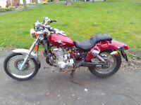 Kymco 125 2001 rat / bobber ???????? £170 no offers