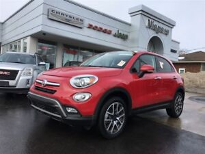 2017 Fiat 500X TREKKING,ALLOYS,LEATHER,AWD