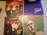 Queen vinyl records.