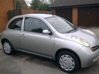 £875 ono : Nissan Micra 1.5 Diesel SE. Over 60mpg, £30 a year tax, Low Insurance.