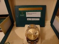 Rolex Datejust model 126333 New model 41MM Steel and 18 Carat yellow Gold , 100% Genuine