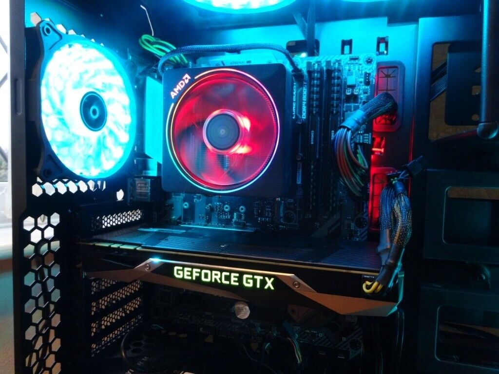 Very High Spec Gaming PC  Ryzen 5 2600  GTX 1080 8gb Founders , M 2 SSD, VR  Ready 4K Ready   in Guisborough, North Yorkshire   Gumtree