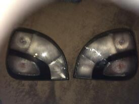 MHW Fiesta Tail lights