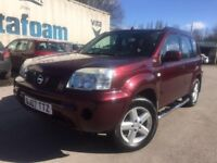 07 plate - Nissan x trial - 12 service stamps - 2 former keepers - 11 months mot