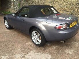 Mazda MX5 - 2006 - 1.8, only 70,000 miles and MOT March 2017