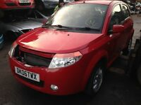 2006 Proton Savvy 1.2 Style 5dr red manual BREAKING FOR SPARES