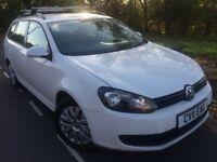 2011 Volkswagen Golf Bluemotion s 1.6 Tdi estate # £20 Tax # 1 owner # s/history # upto 70 mpg !
