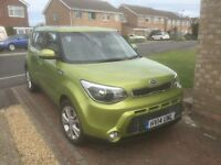 2015 model 2014 Kia Soul FSH, 2 Keys 10 MOT, Sat nav, reversing camera very nice condition