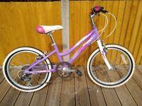 """Girls Pink Bike Cuda Mayhem 20"""" with 6 gears"""