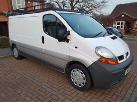 RENAULT TRAFIC LL29 DCI 100 VAN Only 65000 Miles Full service history (05 REG) 2005 Year **No vat**