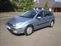 2004 FORD FOCUS 1.6 ZETEC AUTO 1 OWNER FULL SERVICE HISTORY