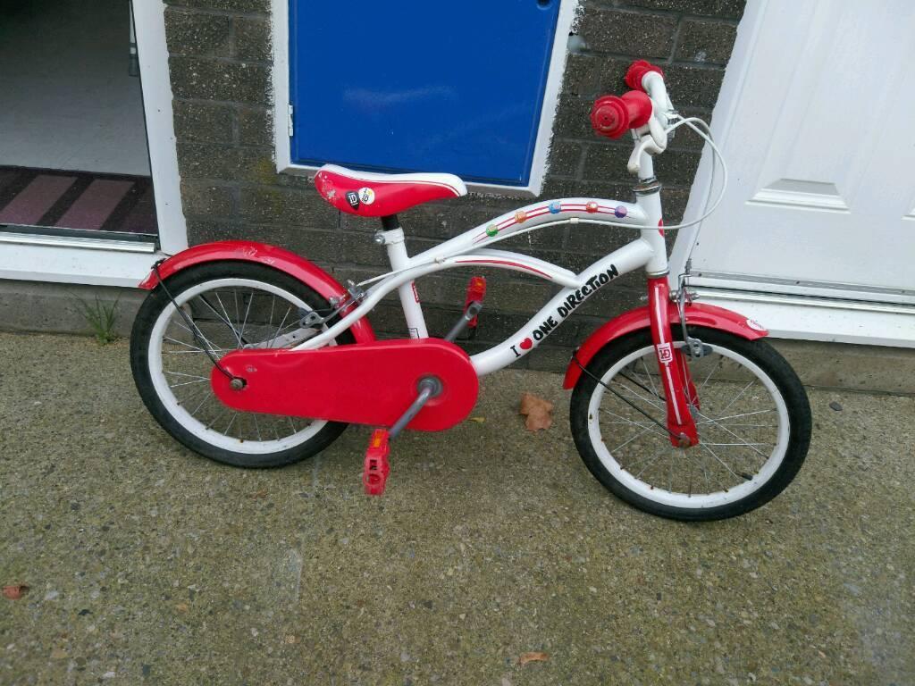 Unisex One Direction Bike In Newton Aycliffe County Durham