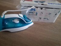 Newly Philips steam iron and second hand russell hobbs steam iron to sale