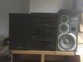 kenwood 6stack sound system