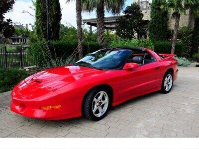 1997 Pontiac Firebird 1997 Pontiac Firebird Trans Am 77,000 Miles Red 2d 1997 Pontiac Firebird Trans Am 77,000 Miles Red 2dr Car 8 Cylinder Engine 5.7L/3