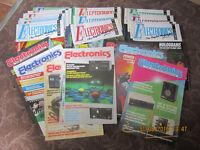 maplin electronics magazines (lot of 27) 1986 to 1991