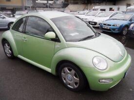 VOLKSWAGEN BEETLE 2.0 8V 3d 114 BHP (green) 2000