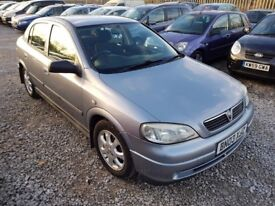Vauxhall Astra 1.6 i Active Hatchback 5dr Petrol Manual. HPI CLEAR. IDEAL FOR NEW DRIVERS