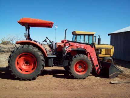 2007 Kubota M105S Tractor with Loader Carindale Brisbane South East Preview