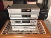 ONKYO FULL SET (CD, CASSETTE, AM/FM TUNER) WORKS LIKE NEW (RARE)
